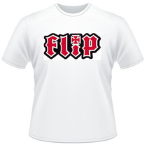 Camiseta Camisa Skate Flip