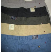 Tommy Hilfiger Pantalones Grandes Drill ,44 Originales