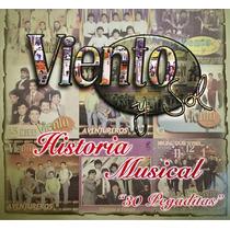 Cd Viento Y Sol Historia Musical 30 Pegaditas