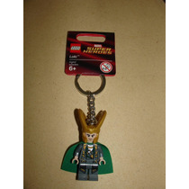 = Lego Chaveiro Avengers Loki Irmão Thor Super Heroi Do Mal