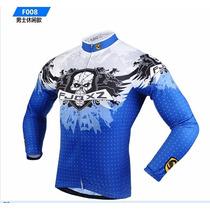 Jersey Transpirable Mtb Bicicleta Sportwear Fjqx