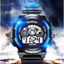 Reloj Coolboss S-sport Resistente Al Agua 24cm
