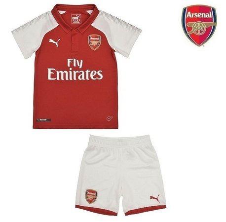 e0f9fcc8a8 Uniforme Infantil Camisa Shorts Futebol Arsenal Oficial 2018 - R  150