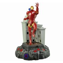 Marvel Lampara De Compañia Iron Man Luces Movimiento Sonidos