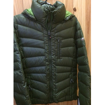 Campera Northland Ares Down Pluma Mujer Verde Muy Abrigada