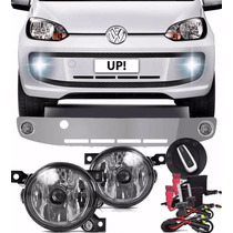 Kit Farol Milha Up 2014 Grade Bt Original + Xenon 8000k