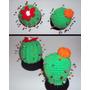 Amigurumi Crochet Alfiletero/adorno Cactus/cupkake