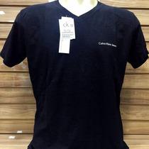 Camiseta Masculina Calvin Klein Jeans Camisa Blusa Ck Marca