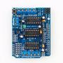 Tarjeta Motor Shield Arduino Servo Stepper Dc