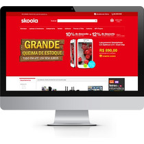 Loja Virtual Open Cart Tipo Grandes Lojas+ Hospedagem Gratis