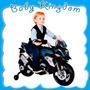 Moto Carrera A Bateria Niño Triciclo Infantil 6 V Musica Luz
