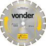 Disco De Corte Diamantado 350mm Concreto E Asfalto - Vonder