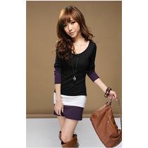 Vestido Corto 3 Colores Full Licra- Ivanita Fashion !!!