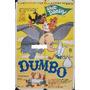 Afiche Original Walt Disney Dumbo Dibujo Animado 1941