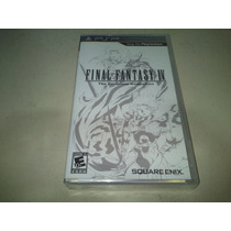 Final Fantasy Iv Complete Collection - Novo - Lacrado