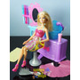 Barbie Hairtastic Color E Wash Salon Mattel Salão Cabelo