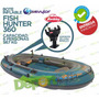 Bote Inflable Sevylor Fish Hunter 360 6 Personas Porta Cañas