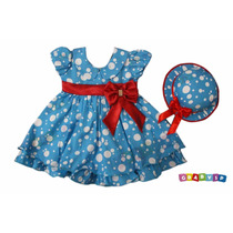 Vestido Da Galinha Pintadinha - Festa Infantil Fantasia Luxo