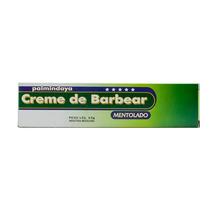 Creme De Barbear Palmindaya Mentol Com 65 Gramas