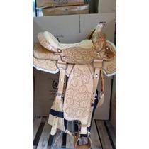 Arreio De Cavalo Americana Para Laco Barata+manta+frete Grat