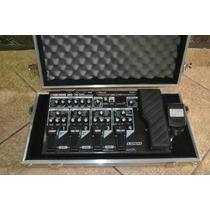 Pedaleira Boss Me70 Com Case E Fonte
