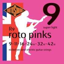 Encordamento Rotosound Guitarra Roto Pinks 009-042 R9