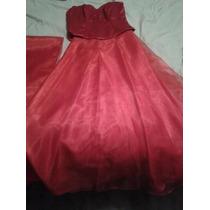 Vestido Tipo Corsel Rojo