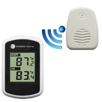 Ambient Tiempo Ws-04 Wireless Termómetro Con Temperatura Int