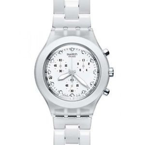 9bce23c60ad Relogio Swatch Full-blooded White - R  490