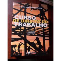 Curso De Direito Do Trabalho - Amauri Mascaro Nascimento