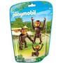 Playmobil 6650 Animales Zoo Monos Changos Simios Bebe Safari