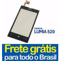 Tela Touch Screen Nokia Lumia 520 N520 520.2 N520.2 C/ Aro