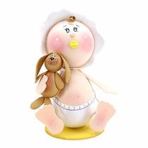 Centro De Mesa Fofucho Bebé Con Perro Foamy Baby Shower