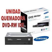Unidad Quemadora De Dvd-rw Ide Samsung Nuevas En Caja!!