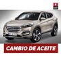 Cambio Aceite Y Filtro Hyundai Tucson 2,0 Crdi 16v Desde 05