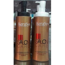 Kit Shampoo+condi Kerasys Salon Care Cabelo Danificado 600ml