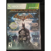 Batman Arkham Asylum Goty Edition Xbox 360 - Original