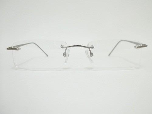 987baffb0 Armação Parafusada Sem Aro P/ Grau Em Alumínio Frete Grátis - R$ 98,90 em  Mercado Livre