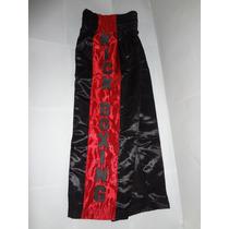 Remate Pantalon Rojo Con Negro Para Practicar Kick Boxing