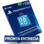 Cartão 100 Reais Playstation Psn Plus Br Brasil Brasileira