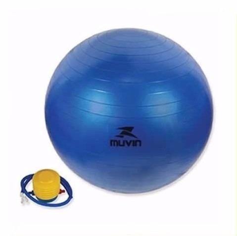 Bola Suica Pilates 45cm Muvin Antiestouro Yoga Bomba Grátis - R  39 ... e6e8969fb8657