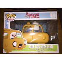 Funko Rides Jake Car With Finn (adventure Time)