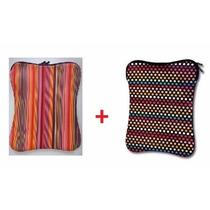 Kit 2 Capas Case Neoprene Para Notebook 14 Polegadas Oferta