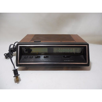 Radio Reloj Antiguo General Electric Retro F4