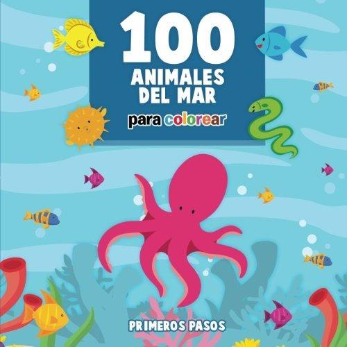 Libro : 100 Animales Del Mar Para Colorear: Dibujos Para ...
