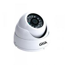 Camera Giga 9025db 25m Infradome Branca Analogica 960h Cftv