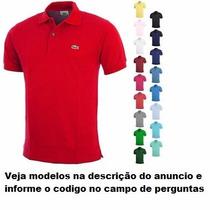 Camisa Polo Lacoste Original Hugo Boss Sergio K Ralph Lauren