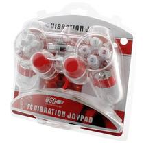 Gamepad Alámbrico Tipo Play Para Pc Y Laptop Transparente