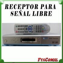 Receptor Señal Libre Fta . Sin Renta Ni Pagos .ver Video