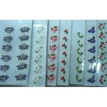 R$ 1,90 Adesivos Artesanais Unhas Decoradas Peliculas Unha